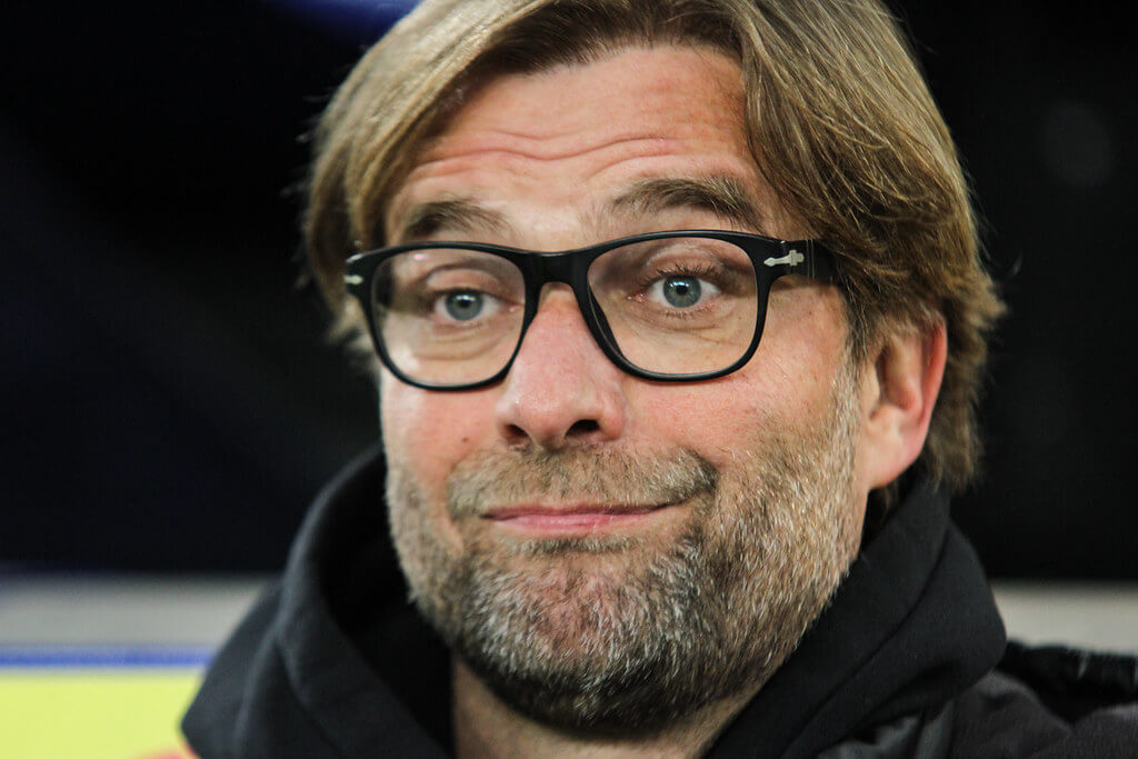 Klopp leitet das Traineramt beim FC Liverpool