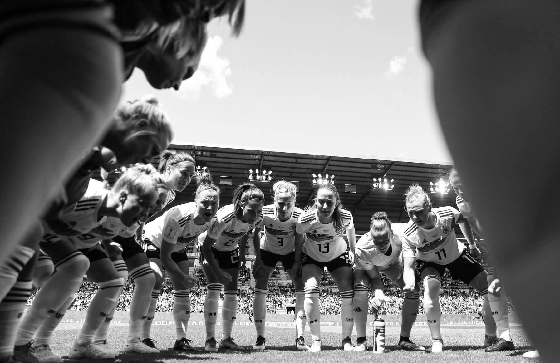 Frauenfußball Nationalmannschaft Deutschland im Viertelfinale der FIFA Frauenfußball WM in Frankreich