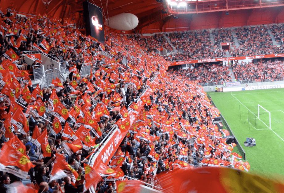 Stade du Hainaut inauguration