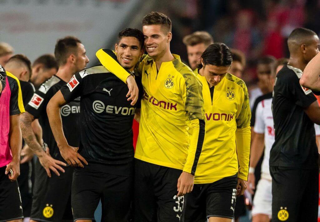 Hakimi und Acalcer treffen für Dortmund