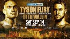 Tyson Fury vs. Otto Wallin