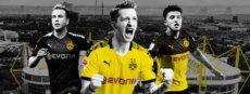 Borussia Dortmund gegen den FC Barcelona
