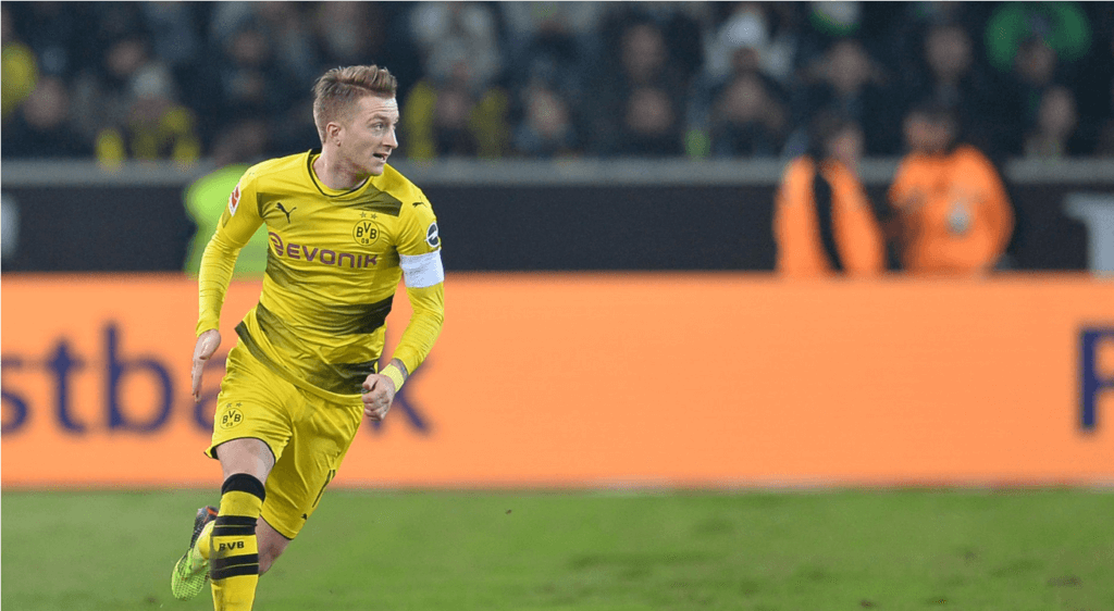 Marco Reus spielt für Borussia Dortmund