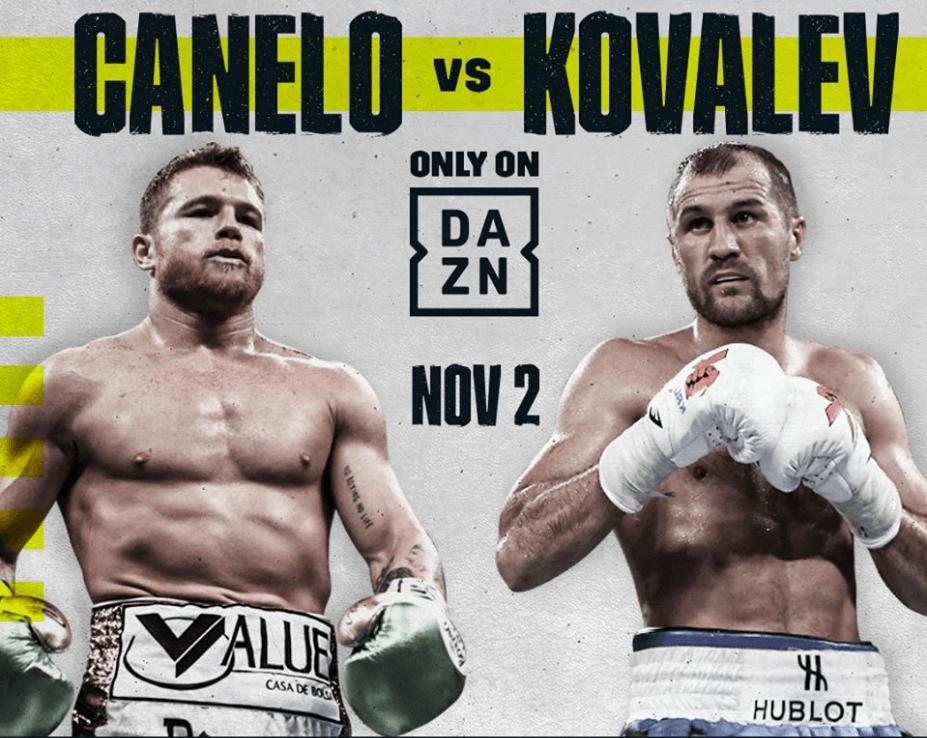 Canelo Alvarez Kampf gegen Kovalev