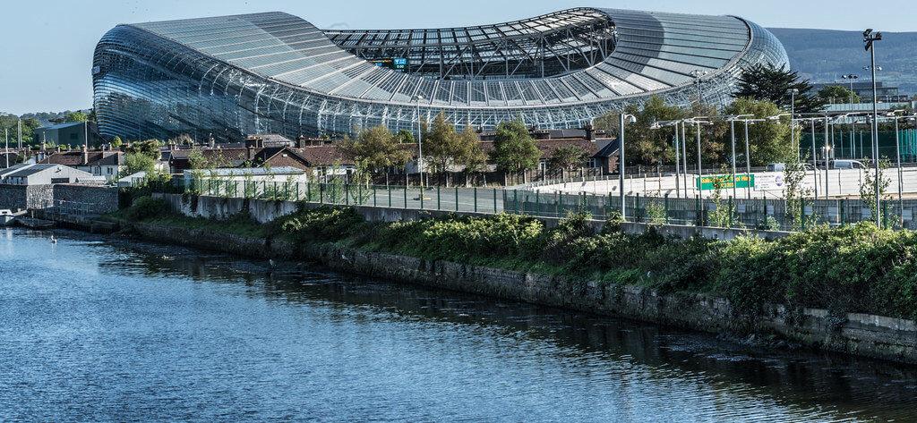 Aviva Stadium er vertskap for EM 2021