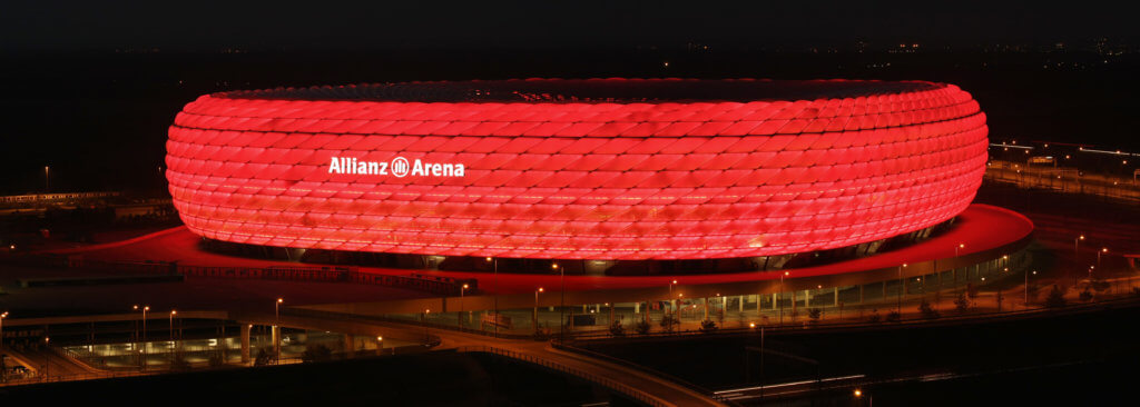 Allianz Arena  er vertskap for EM 2021