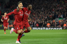 Merseyside Derby in Liverpool