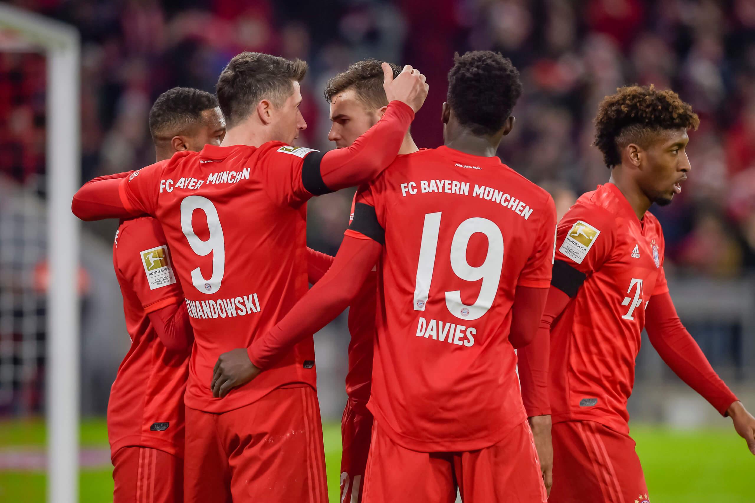 FC Bayern - Eintracht