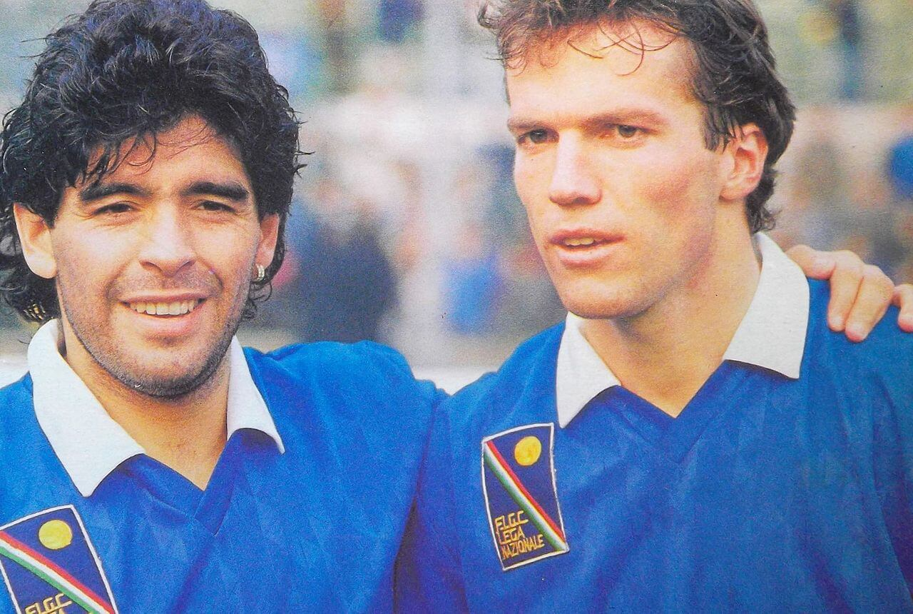 Loddar & Diego - zwei große Nummer 10s
