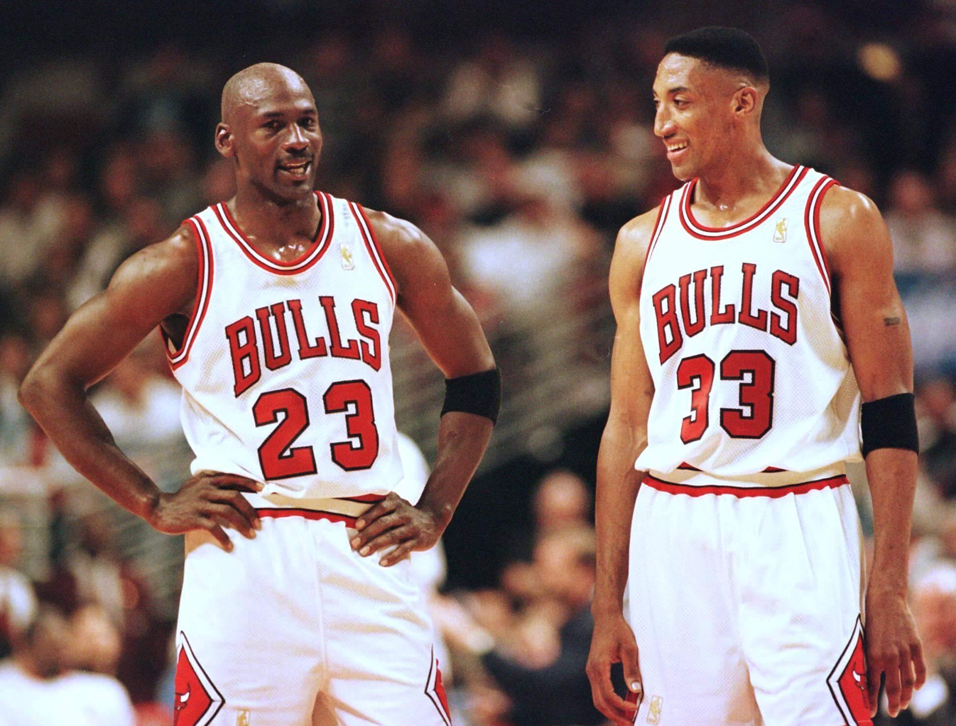 Michael Jordan & Scottie Pippen