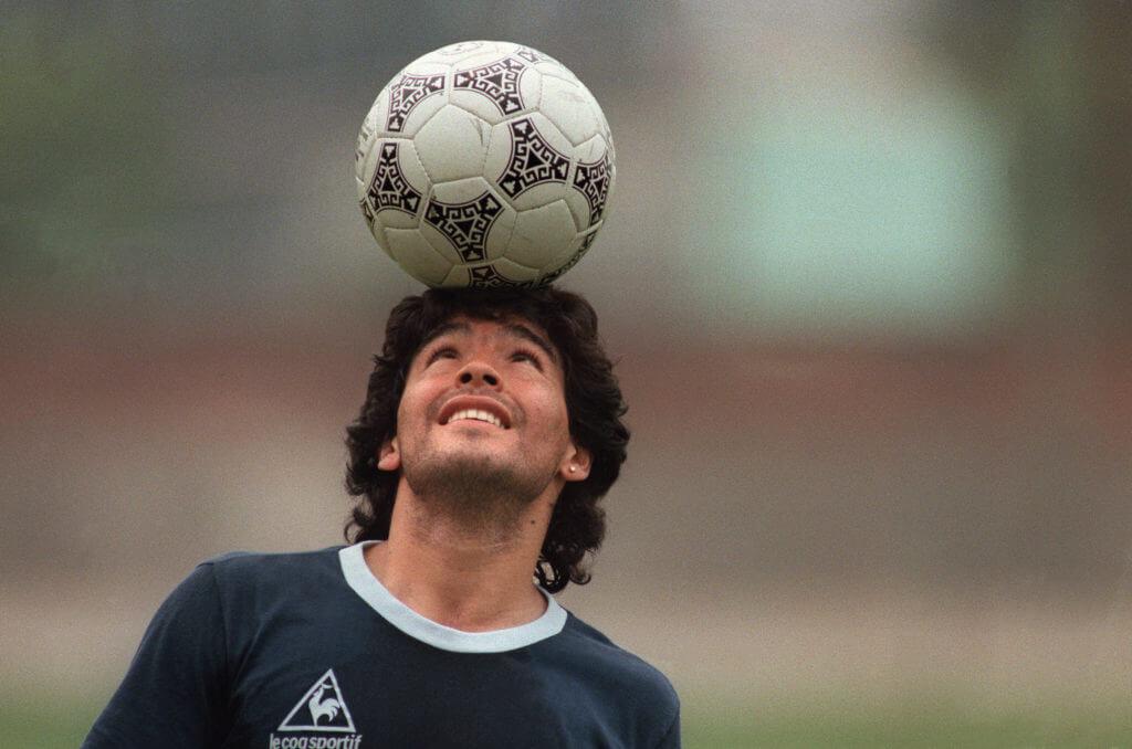 Diego Maradona, einer der besten Freistoßschützen aller Zeiten