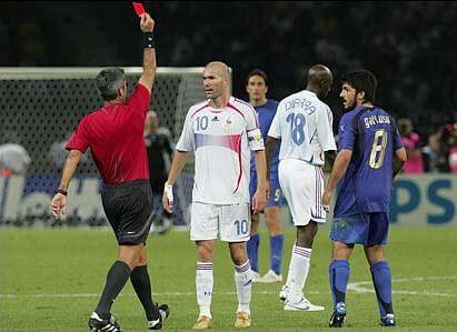 Zinedine Zidane - die berühmteste Glatze im Fußball