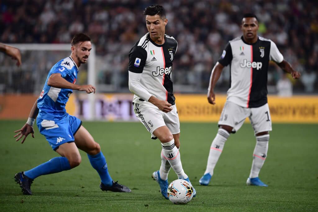 Coppa Italia Finale zwischen Neapel und Juventus