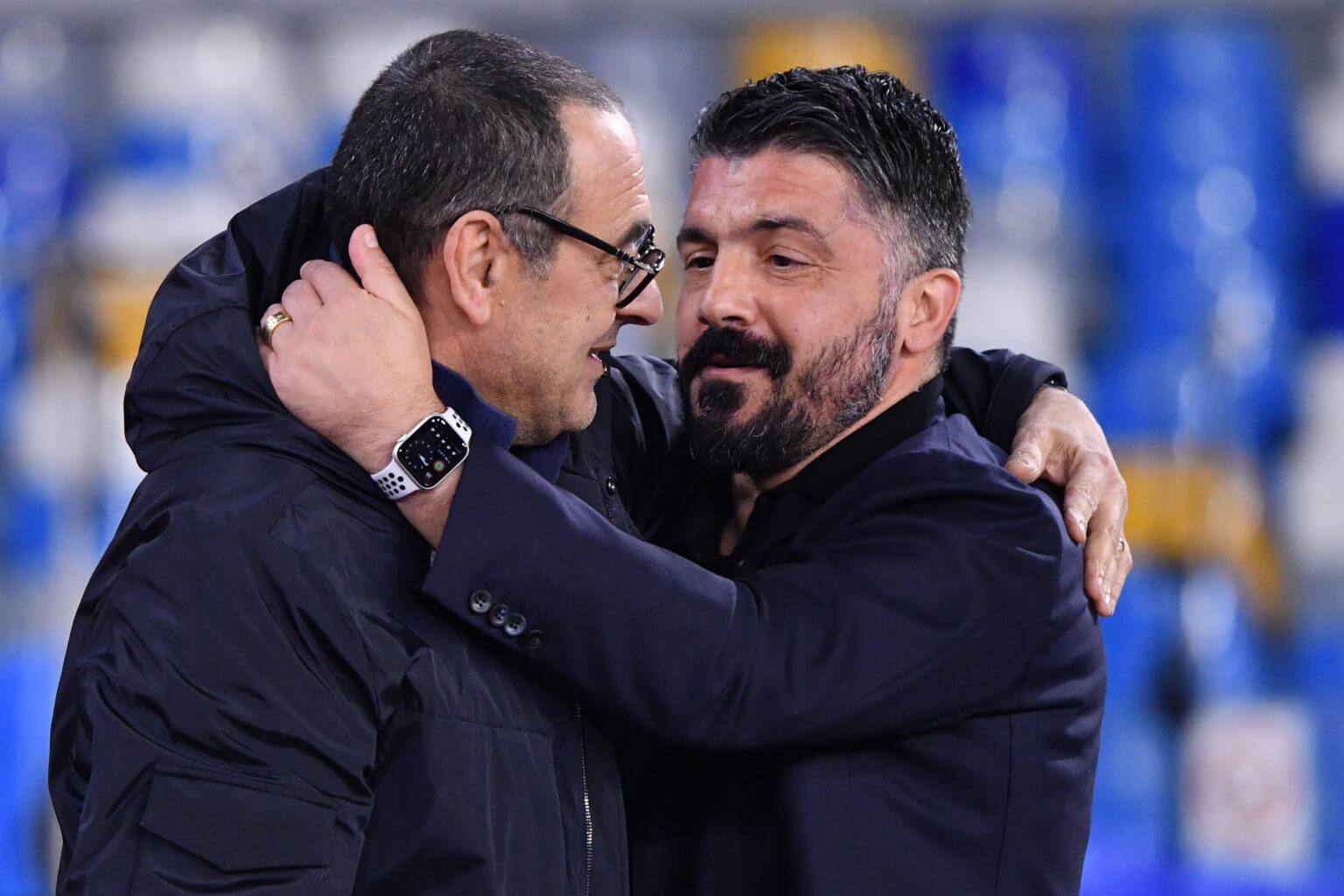 Coppa Italia Finale findet in Rom statt.
