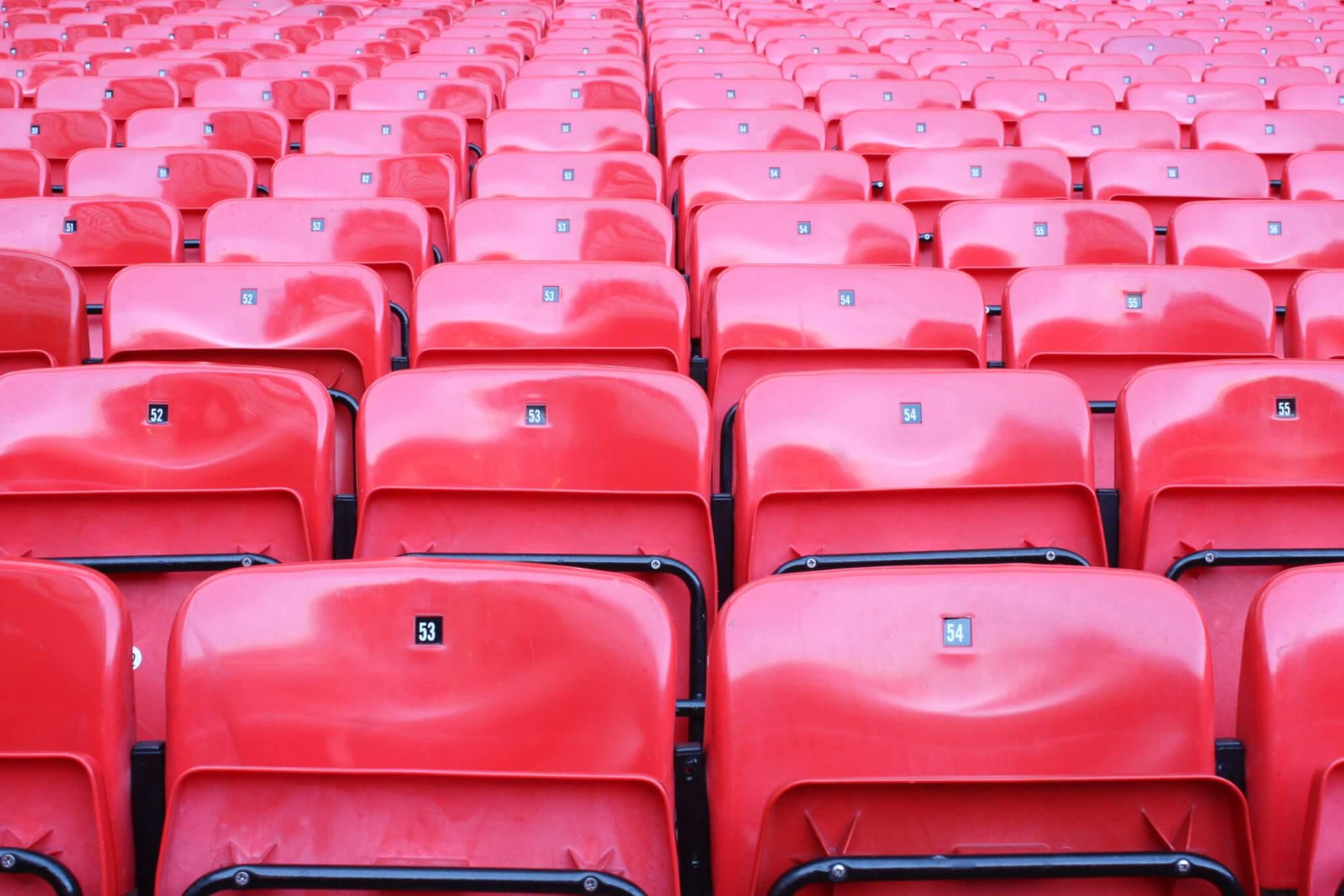 Fußball stadion tribüne