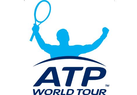 ATP World Tour Logo weiss